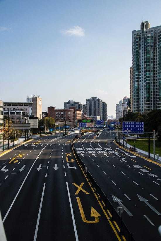 Thượng Hải vắng tanh trong mùa dịch corona