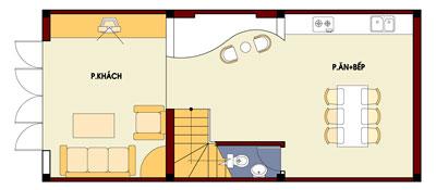 mb1 569476 1388983029 - Thiết kế nhà 4 tầng với 4 phòng ngủ diện tích 5 x 11 m