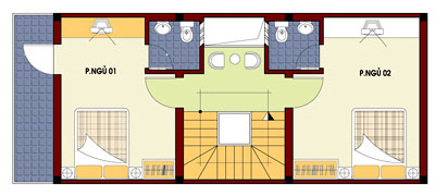 mb2 148042 1388983030 - Thiết kế nhà 4 tầng với 4 phòng ngủ diện tích 5 x 11 m