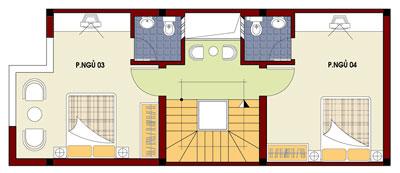 mb3 432215 1388983030 - Thiết kế nhà 4 tầng với 4 phòng ngủ diện tích 5 x 11 m