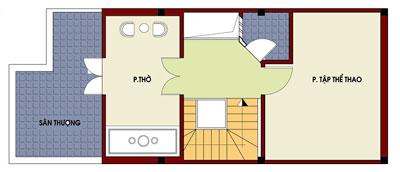 mb4 490057 1388983030 - Thiết kế nhà 4 tầng với 4 phòng ngủ diện tích 5 x 11 m
