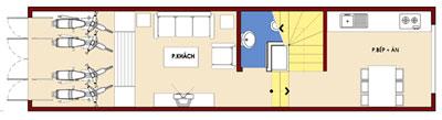 t1n 945071 1388980853 - Thiết kế Nhà ống 2.5 tầng mặt tiền 3 m đẹp