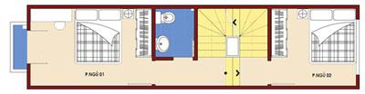 t2 526085 1388980853 - Thiết kế Nhà ống 2.5 tầng mặt tiền 3 m đẹp