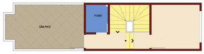 t3n 448011 1388980853 - Thiết kế Nhà ống 2.5 tầng mặt tiền 3 m đẹp