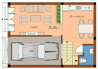 vuong1 774989 1388982495 - Thiết kế nhà 3 tầng 6.3 x 8.6 m
