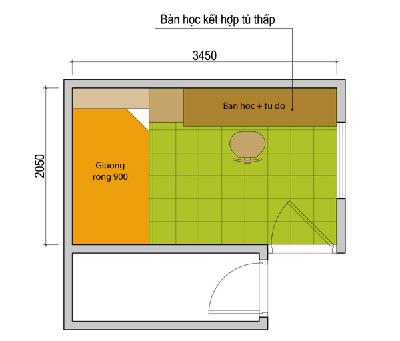 trai3 426922 1388979559 - Thiết kế nội thất cho phòng 2 con 1 bé trai, 1 bé gái