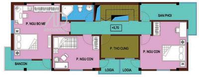 bang2n 496444 1388976343 - Thiết kế Nhà 6 x 18 m hai mặt tiền