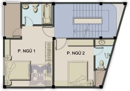 pn2n 612627 1388974367 - Tư vấn hiết kế nhà 60 m2 trên đất hình thang