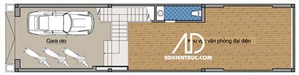 tang1 576789 1388974303 - Tư vấn hiết kế Nhà chia lô 80 m2 hẹp và dài đẹp nhất