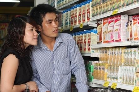 Sữa đậu nành hộp giấy đang là sự lựa chọn của nhiều người tiêu dùng.