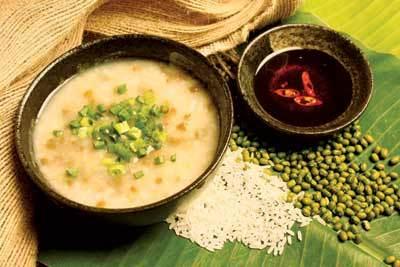 Cháo đậu xanh bổ dưỡng cho sức khỏe.