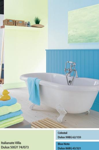 Không gian Mộc và phòng tắm dùng sơn Dulux.