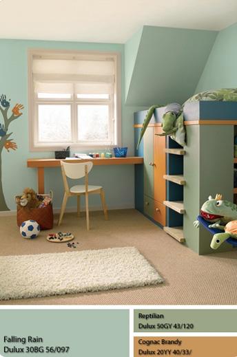 Phòng cho trẻ trong không gian Mộc.