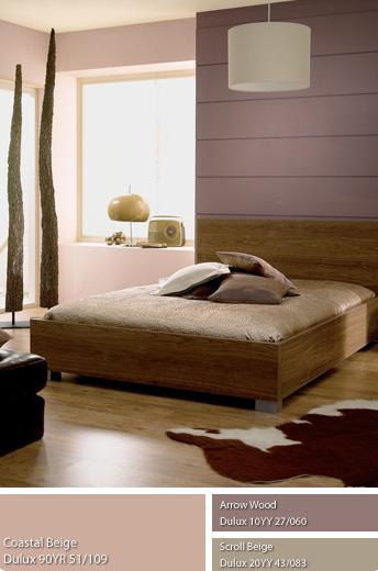 Không gian Mộc và phòng ngủ dùng sơn Dulux.