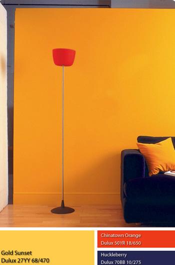 Màu sắc nội thất không gian Thổ.