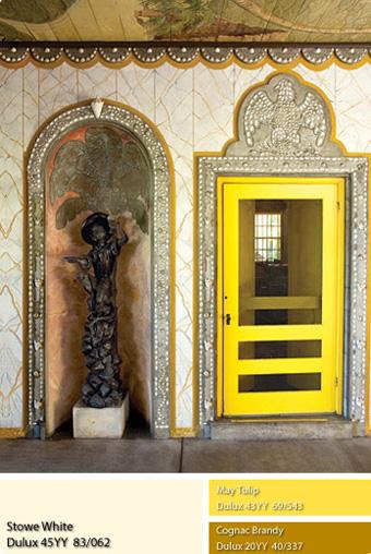 Sơn Dulux - Màu vàng rực rỡ.