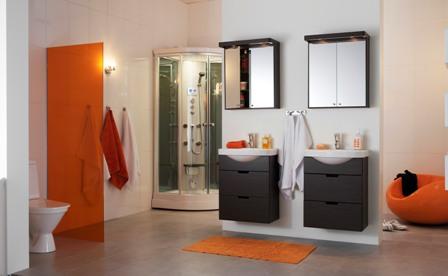 Phòng tắm đồng bộ hafa bathroom - 5