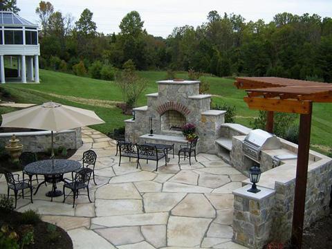 Sân chơi trang trí patio - 5