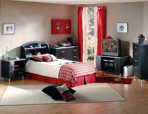 Đầu giường phải được kê sát tường, cửa sổ luôn có rèm che .