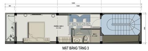 1mat bang tang 3 741084 1388971357 - Nhà phố mặt tiền 5m đẹp