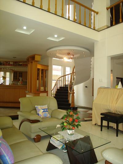 Sự pha trộn giữa những màu sắc dịu dàng và thiết kế nội thất sẽ tạo một không gian hoàn chỉnh.