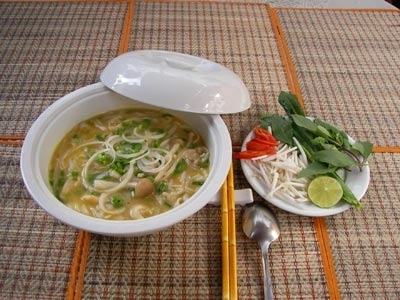 Phở chay.