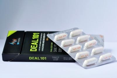 Chứng nhận FDA của Hoa Kỳ về chất lượng sản phẩm. DEAL 101 hoàn toàn tiêu hóa và không có bất cứ tác dụng phụ nào.
