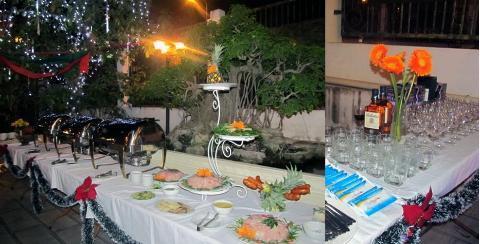 Tiệc buffet mang một làn gió mới đến cho bữa tiệc tại nhà.