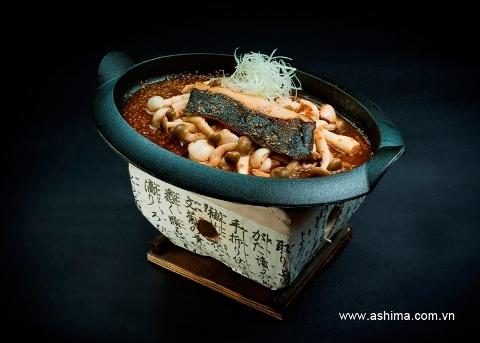 Món cá Tuyết nướng Nấm có tác dụng tăng cường miễn dịch và thanh lọc cơ thể.