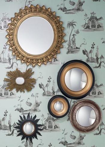 Gương trang trí ấn tượng - 1