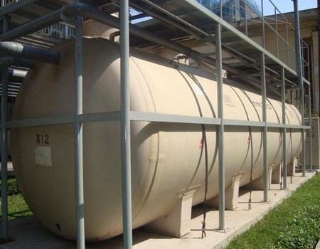 Hệ thống xử lý nước thải tại bệnh viên Chợ Rẫy. Ảnh: Thiên Chương.