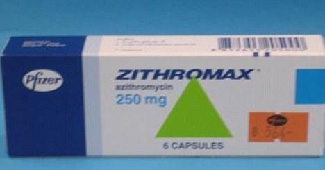 thuốc kháng sinh Zithromax có thể gây ra vấn đề rối loạn nhịp tim