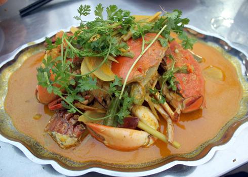 Cà ri cua với hương vị thơm ngon là món ăn hấp dẫn đối với nhiều người.