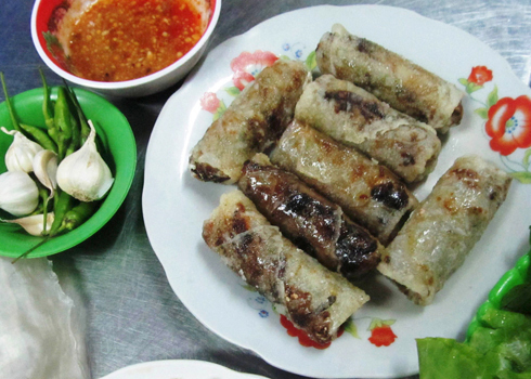 Chả dông là món ăn đặc sản của Phú Yên.
