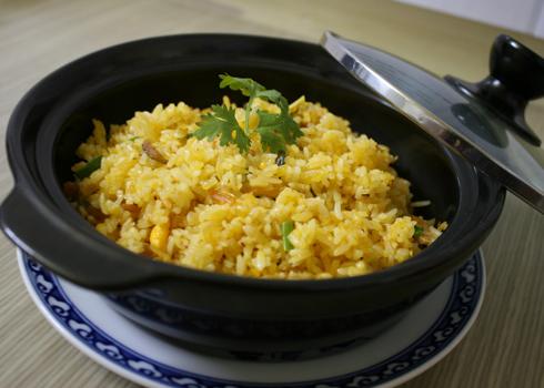 Cách làm món cơm chiên cá mặn ngon