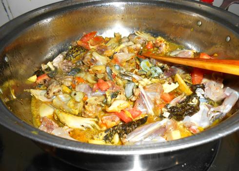 Cách làm món mì Quảng thịt ếch ngon 2