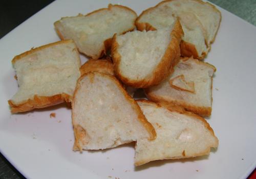 Cách làm món Bánh mì hấp Sài Gòn ngon 3