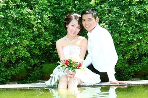 Anh Thắng và người vợ hiền, thông minh Phương Quỳnh.