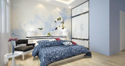 Chọn màu giấy dán tường phù hợp với tư gia