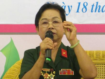 Cô Thu Nguyệt kể chuyện hoạt động cách mạng