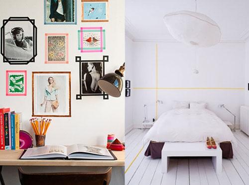 Chúng ta cũng có thể trang trí nội thất, bạn có thể tạo mô hình thành các khung tranh ảnh trên bức tường