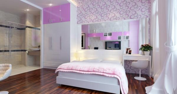 Thiết kế phòng ngủ cá tính và hiện đại