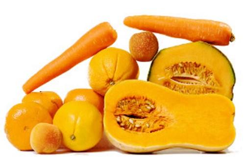 Tiêu thụ nhiều thức ăn giàu carotene trong thực đơn hàng ngày giúp giảm tới 32% nguy cơ ung thư. Ảnh: Puregoodness.net