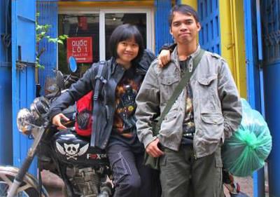 Chuẩn bị cho chuyến trăng mật 6.000 km trong vòng 35 ngày qua các nước Lào, Thái Lan, Campuchia và hành trình xuyên Việt từ Nam ra Bắc.