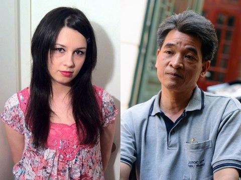 Katrin Tranova và bố ruột đã tìm lại được nhau sau hơn 10 năm mất liên lạc.