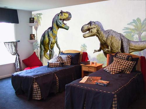 Những chú khủng long khổng lồ sẽ nuôi dưỡng khát khao chinh phục thế giới tự nhiên kỳ bí của trẻ.