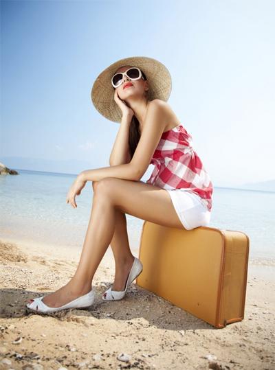 Hàng ngày nhìn thấy điểm đến mơ ước, bạn sẽ có thêm động lực cho bản thân. Ảnh minh họa: Miss travel.