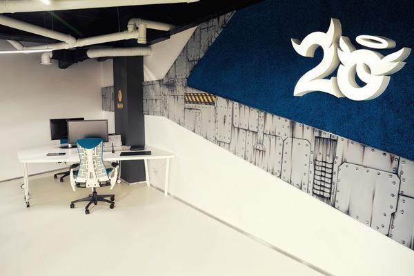 Văn phòng đầy sáng tạo của công ty game 2o