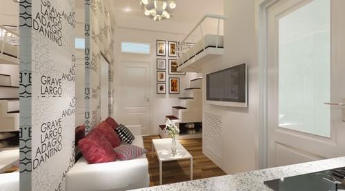 Thiết kế lý tưởng cho căn hộ mini 18 m2