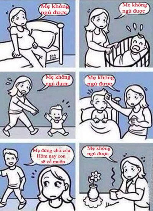 Nỗi vất vả của người làm mẹ - Ảnh 1